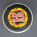 Iron Maiden Ring of fire prism pin