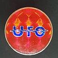 UFO - Pin / Badge - Red Prism pin