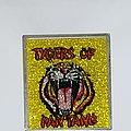 Tygers Of Pan Tang - Pin / Badge - Square glitter metal pin