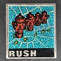 Rush - Pin / Badge - Square glitter metal pin