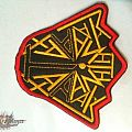 Non official Anthrax Darth Vader embroidery patch v1