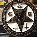 GG Allin - Pin / Badge - GG Allin War In My Head pin