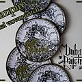 "Vampire ""cimmerian shade"" official woven patch"
