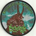 "Nocturnal ""arrival of the carnivore"" licensed woven patch, ltd 200. (SOLD OUT)"