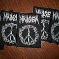 Nausea (crust) tribute woven patch (SOLD OUT)