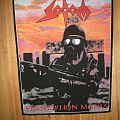 Sodom Persecution Mania back patch