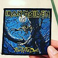 Iron Maiden - Patch - Iron Maiden Fear of the Dark woven patch