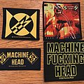 All of my woven Machine Head patches