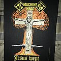 Machine Head Jesus Wept back patch