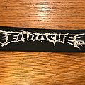 Earache Records super strip woven patch