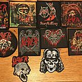All of my Slayer woven patches