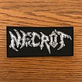 Necrot embroidered patch