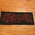 Exhorder - Patch - Exhorder woven patch