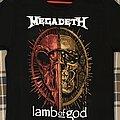 Megadeth - TShirt or Longsleeve - Megadeth and Lamb of God tour shirt 2021