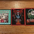 Pestilence - Patch - Some recent death metal woven patches