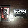 Sanction with blood left uncleansed cassette