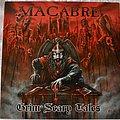 """Macabre – Grim Scary Tales 10"""" Red Vinyl"""