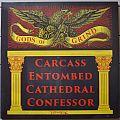 Carcass - Tape / Vinyl / CD / Recording etc - Gods Of Grind V/A Original Yellow Vinyl
