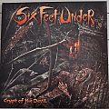 SIX FEET UNDER Crypt Of The Devil Original Baby Shit Vinyl