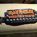 Other Collectable - Ironmaiden studded wrist band from the 83´ tour