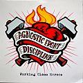 AGNOSTIC FRONT/DISCIPLINE Working Class Heroes Original Orange Vinyl
