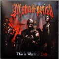 ALL SHALL PERISH This Is Where It Ends Original Red Vinyl