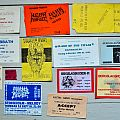 old Concert Tickets From The 80´s and 90´s part 2