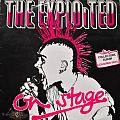 Other Collectable - The Exploited On Stage Original Blue Vinyl