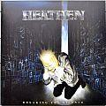 HEATHEN Breaking The Silence Original Blue Vinyl