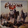 Saxon - Tape / Vinyl / CD / Recording etc - Saxon – Crusader Splatter Vinyl