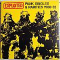 THE EXPLOITED  Punk Singles & Rarities 1980-83 Original Red/Yellow Vinyl