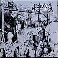DESTRUKTOR Opprobrium Original Clear with Black Splatter Vinyl