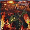 "THANATOS The Burning Of Sodom/...And Jesus Wept 7"" Original Red Vinyl"