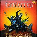 THE EXPLOITED The Massacre Original Orange Vinyl