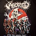 ABORTED Who You Gonna Call? Gorebusters Tour Shirt