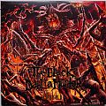 THE BLACK DAHLIA MURDER Abysmal Original Red/Orange Splatter Vinyl