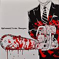 IRON REAGAN Exhumed / Iron Reagan Red/Black Half/Half With Splatter  Original Vinyl