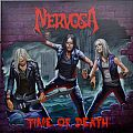 "Other Collectable - NERVOSA Time Of Death Original Purple 7"" Single Vinyl 150 Copies"