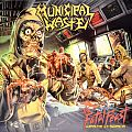 MUNICIPAL WASTE The Fatal Feast (Waste In Space) Original Clear Vinyl