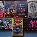 Metallica - Tape / Vinyl / CD / Recording etc - Old Metal VHS Cassettes #3