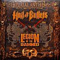 "HAIL OF BULLETS VS. LEGION OF THE DAMNED Imperial Anthems No. 11 Original 7"" Single Vinyl"