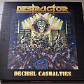 Destructor – Decibel Casualties Box Yellow Coloured Vinyl