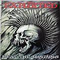 THE EXPLOITED Beat The Bastards Original Yellow Vinyl