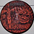 "NunSlaughter / Cianide Sickened By The Sight Of Christ / Cianide 7""  Picture Disc Vinyl"