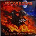 ROCKA ROLLAS The Road To Destruction Original Red/black Splatter Vinyl