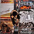 Defecation - Tape / Vinyl / CD / Recording etc - DEFECATION Purity Dilution Original Vinyl