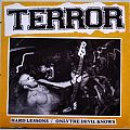 "TERROR Hard Lessons / Only The Devil Knows 7"" Original Clear Vinyl"
