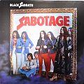 BLACK SABBATH Sabotage Original Blue Vinyl