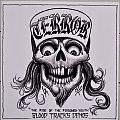 "TERROR The Rise Of The Poisoned Youth - Blood Tracks Demos 7"" Original Clear Vinyl"