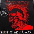 Other Collectable - The Exploited Let´s Start A War.....Said Maggie One Day Original Vinyl Gatefold Sleeve